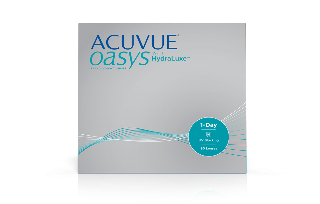 ACUVUE® OASYS® 1-DAY with HydraLuxe™ TECHNOLOGY